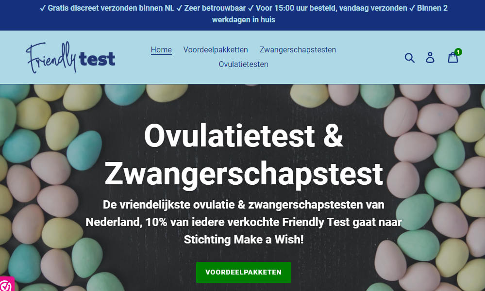 Friendly Test zwangerschapstest & ovulatietest