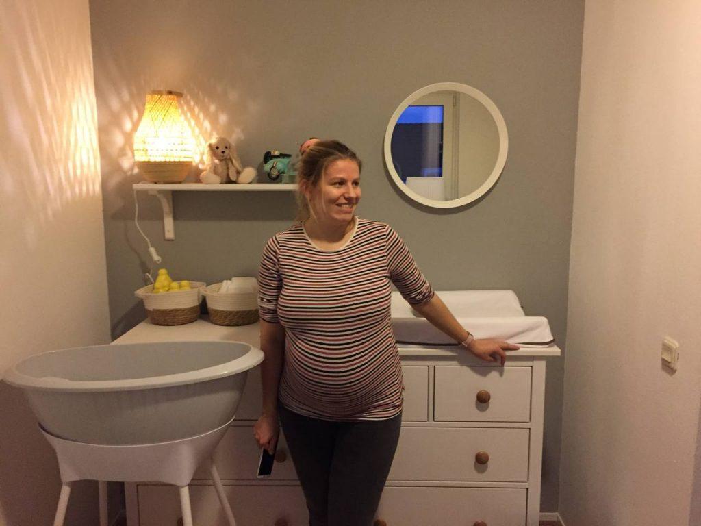 babykamer is klaar