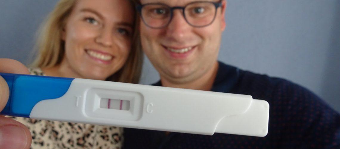 Positieve Friendly test zwangerschapstest